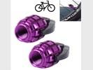 2 PCS Universal Grenade Shaped Bicycle Tire Valve Caps