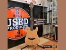 J.N Guitars EW3000CBK Semi Akoestische Gitaar Solid Body -