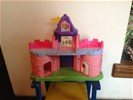 Fisher price, my little people - roze kasteel