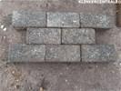 20297 200m2 heide met zwarte basalt spikkel betonklinkers