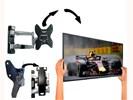 Makkelijk afneembare tv muurbeugel - Aluminium - Draaibaar