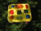 Speeltafel- kinderen kunnen hier , al jong mee spelen