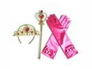 Prinses Elsa/Anna accessoire set 3-delig accessoires set -