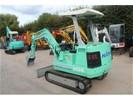 Hanix H24 minigraver 2400KG graafmachine H24 bagger