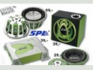 SPL versterker woofer speaker SPL = audiobahn