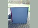 1x Roldeurkast H134xB125xD50cm