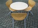 7x SET tafel+3 stoelen