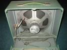 Oude bioscoop 16 mm projector luidsprekers