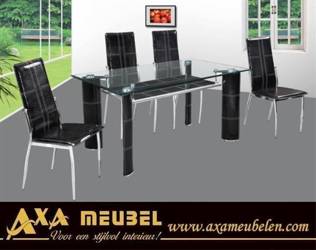 Glazen Meubelen Rotterdam.Glazen Meubelen Modern Glas Eettafels Ada Rotterdam Breda