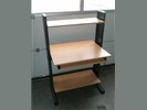 1x Computertafel B87xD65cm.