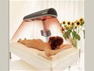 Verhuur Hapro sunmobile zonnebank met UV & Infrarood!