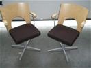 1x SET 2 stoelen Kinnarps