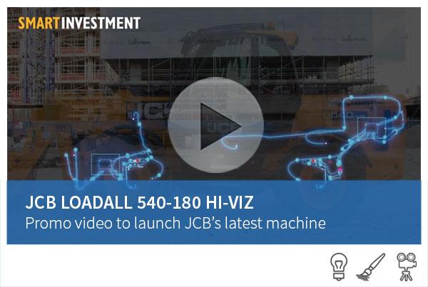 JCB - Loadall 540-180 Hi-Viz