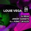 Louie Vega - DJ Reas - Jeremy Sunsets - Puma - LM Alex Audio Club Genève Biglietti