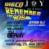 Disco Joy Remember the 90s Granolissimo Sursee Sursee Billets