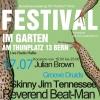 Festival im Garten am Thunplatz Bern Thunplatz 13 Bern Tickets