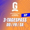 VIP - 3-Tagespass DO / FR / SA Gurten Wabern-Bern Tickets