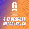 4-Tagespass MI / DO / FR / SA Gurten Wabern-Bern Tickets