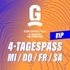 VIP - 4-Tagespass MI / DO / FR / SA Gurten Wabern-Bern Tickets