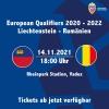 Liechtenstein - Rumänien Rheinpark Stadion Vaduz Billets