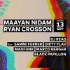 Maayan Nidam - Ryan Crosson - DJ Reas Audio Club Genève Tickets