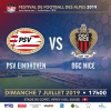 Match International de Football - PSV Eindhoven vs OGC Nice Stade de Copet Vevey Biglietti