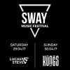 SWAY 'Music Festival 2017' Härterei Club Zürich Billets