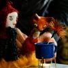 """Theater Roos und Humbel (CH) """"Tomte, der Fuchs und der süsse Brei"""" Theater an der Grenze Kreuzlingen Tickets"""