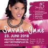 Sarah-Jane Fest 2018 Festzelt bei der Reithalle Rothenfluh Biglietti