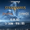 Stratovarius Casino Orbe Tickets