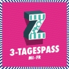 3-Tagespass MI / DO / FR Festivalgelände Rümlang Tickets