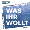 Was ihr wollt - von Williams Shakespeare / Thomas Hürlimann ewl Areal Luzern Billets