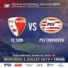 Match de Gala International de Football - FC Sion vs PSV Eindhoven Stade St-Marc Le Châble Tickets