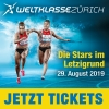 Weltklasse Zürich 2019 Stadion Letzigrund Zürich Billets