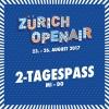 2-Tagespass MI / DO Festivalgelände Glattbrugg Tickets