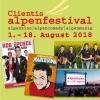 Alpenfestival 2018 Alpenkino Hinwil-Unterbach Biglietti