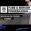Tube & Berger - Finnebassen Audio Club Genève Tickets