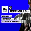 Jeff Mills - Atønal - Nemelka  - Adri & Frenzi Audio Club Genève Tickets