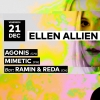 Ellen Allien - Agonis - Mimetic Audio Club Genève Tickets