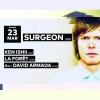 Surgeon - Ken Ishii - La Forêt - David Armada Audio Club Genève Billets