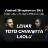 Too Much Information: Audio Club Genève Billets