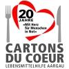 20 Jahre Cartons-du-Coeur Lebensmittelhilfe Aargau Stadtkirche Aarau Billets