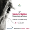 58e Concours Hippique International de Genève Palexpo Grand-Saconnex Tickets