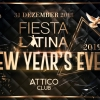 "'""Fiesta Latina New Year 2019'"" Attico Club Zürich Tickets"