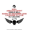 Noel Abraxas Spirit D! Club Lausanne Tickets