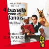 4 bassets pour 1 danois Salle Point favre Chêne-Bourg Tickets