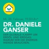 Dr. Daniele Ganser OSTTOR Winterthur Biglietti