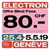 Electron Festival Plusieurs lieux Genève Tickets