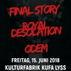 Final Story Kulturfabrik KUFA Lyss Lyss Tickets