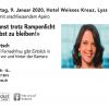 Mona Vetsch Hotel Weisses Kreuz Lyss Billets